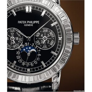 Patek Philippe [NEW+RARE] Grand Complication Mens Black Dial 5073P