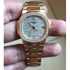 Patek Philippe [NEW][RARE] Ladies Nautilus 7010/1R-011 (Retail:HK$331,000)