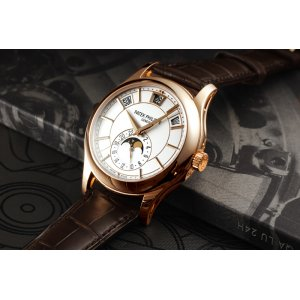 PATEK PHILIPPE [NEW] SA Complications 5205R-001 Rose Gold White Dial (Retail:HK$359,000)