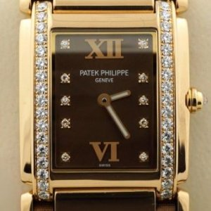 PATEK PHILIPPE [NEW] Twenty-4 18kt Rose Gold Chocolate Ladies 4920R (Retail:HK$168,100)