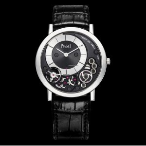 PIAGET [NEW] Altiplano Black and Silver Dial 18K White Gold G0A39111 (Retail:HK$216,000)