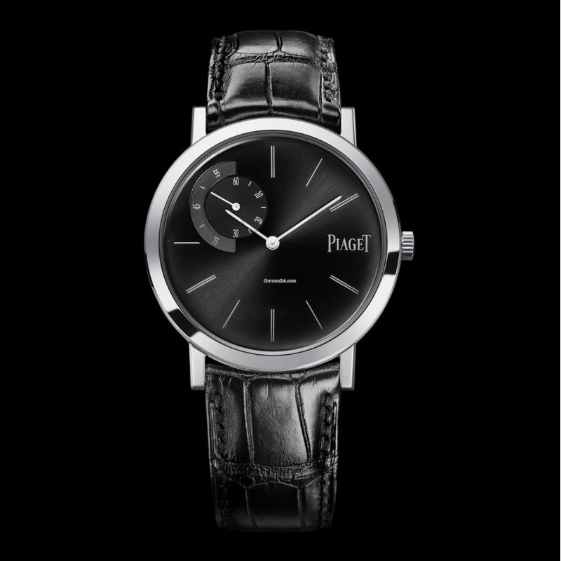 dfeb22c16f6 All Watches · PIAGET  NEW  Altiplano Mechanical Black Dial G0A34114  (Retail HK 145