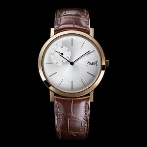 PIAGET [NEW] Altiplano Mechanical Silver Dial Brown Leather Mens G0A34113 (Retail:EUR 18100)