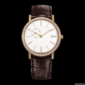 PIAGET [NEW] Altiplano White Dial 18K Rose Gold Diamond Ladies G0A39107 (Retail:HK$178,000)