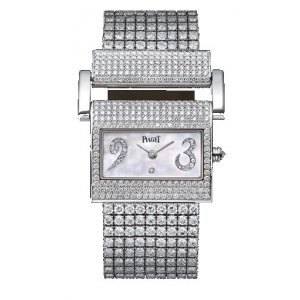 Piaget [NEW] Miss Protocole Full Diamond Bracelet Watch G0A29021
