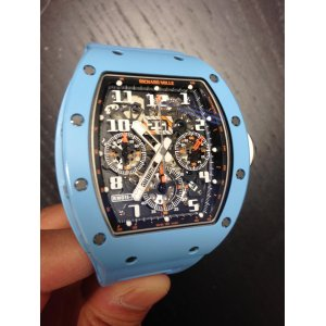 Richard Mille [2017 USED][LIMITED 50 PC] RM 011 Automatic Flyback Chronograph Blue Ceramic