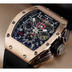 Richard Mille Brand New 'Felipe Massa' - Rose Gold RM 011 (List Price: USD$130,000) - SOLD!!