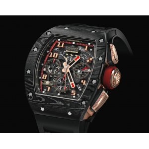 Richard Mille [LIKE-NEW][RARE] RM 011 NTPT Lotus Romain Grosjean Rose Gold (Retail:HK$1,351,000)  - SOLD!!