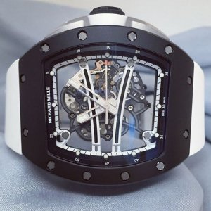 Richard Mille [LIMITED 50 PC][NEW] RM 61-01 Yohan Blake Monochrome LTD Boutique Edition - SOLD!!