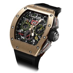 Richard Mille [NEW & SPECIAL DEAL] RM 11-02 Rose Gold GMT Watch