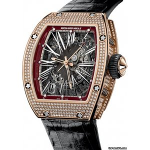Richard Mille [NEW+RARE] RM 023 Rose Gold Full Set Diamond Watch - SOLD!!