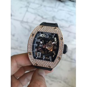 Richard Mille [NEW] RM 010 RG Full Set Diamonds