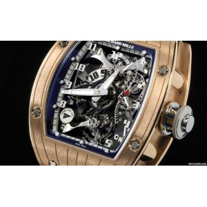 Richard Mille [NEW] RM 015 Tourbillon Perini Navi Rose Gold front RM15 (Retail:HK$3,328,000) - SOLD!!