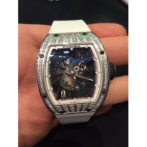 Richard Mille [NEW] RM 023 in White Gold with Med Set Diamonds (Retail:USD$140,000) - SOLD!!