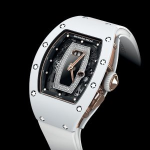 Richard Mille [NEW] RM 037 Ladies Automatic White Ceramic with Rose Gold (Retail:HK$1,017,000)