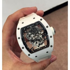 Richard Mille [NEW] RM 055 Bubba Watson White (Retail:US$110,000)