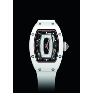 RICHARD MILLE [NEW] RM 07-01 CERAMIC WHITE JASPER LADIES (Retail:US$105,000)
