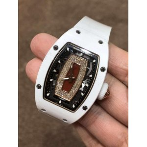 Richard Mille [NEW] RM 07-01 White Ceramic Ladies Watch