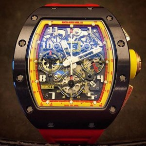 Richard Mille [NEW+SPECIAL DEAL] RM 011 Badminton (Retail:US$160,000) - SOLD!!