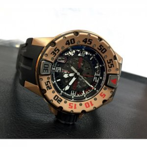 "Richard Mille ""SPECIAL OFFER"" RM 028 Rose Gold Diver (Retail:HK$1,088,000) - SOLD!!"