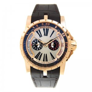 Roger Dubuis [NEW][LIMITED 88] Excalibur Triple Time Zone RDDBEX0258 (Retail:US$66,000)
