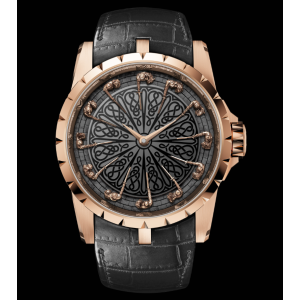 Roger Dubuis [NEW+LTD] EXCALIBUR KNIGHTS OF THE ROUND TABLE RG EX0511 (Retail:US$268,000)