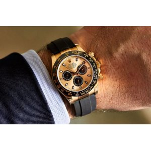 Rolex [2017 NOVELTY][2017最新款] Cosmograph Daytona 116518LN Champagne 40mm Watch