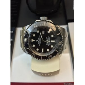 (Rolex) [LIKE-NEW] Deepsea Corrupted Code Serial 亂碼 116660 - SOLD!!