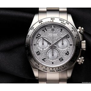 Rolex [MINT] Oyster Perpetual Cosmograph Daytona White Gold Diamond 116509 ZEA - SOLD!!