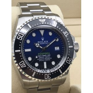Rolex [NEW 2018 MODEL] 126660-98220-BLUE Deepsea Blue Watch