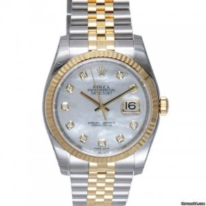 Rolex [NEW] Datejust 116233 36mm White MOP Diamond Jubilee Bracelet (Retail:HK$111,800)
