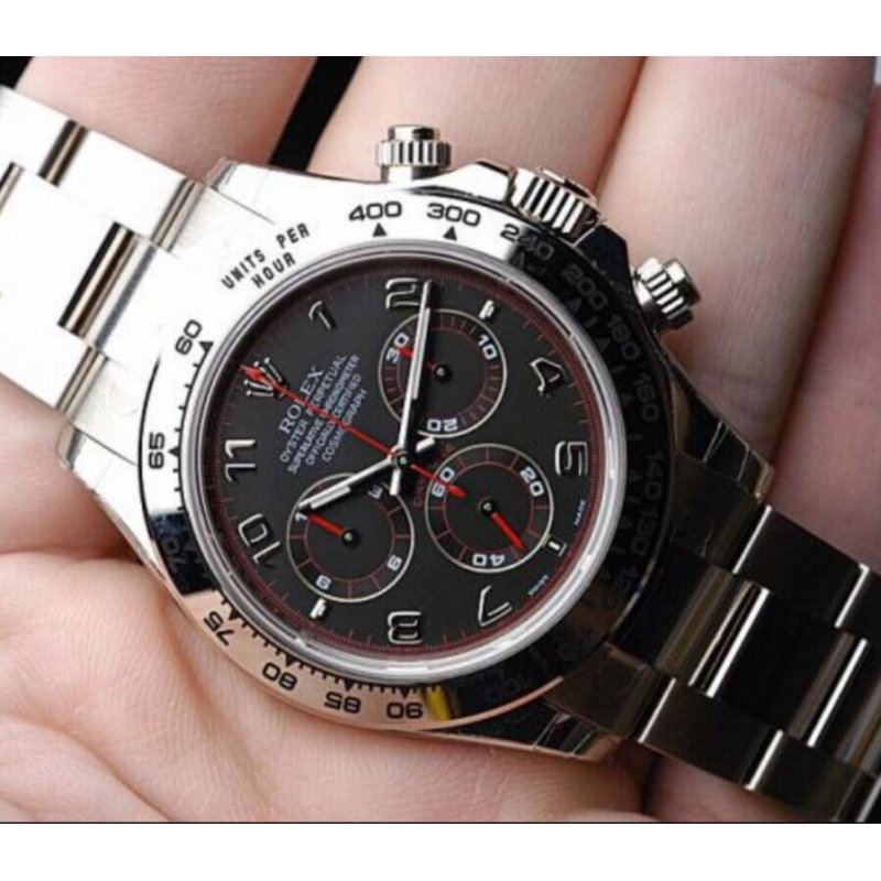 All Watches Rolex New Daytona Spyder Racing Dial White