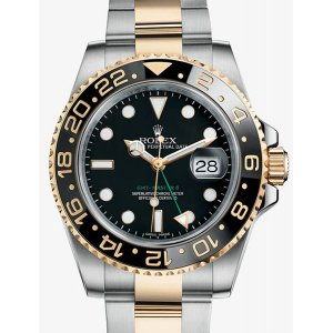 Rolex [NEW] GMT-Master II Watch Yellow Rolesor 116713LN (Retail: HK$91,500)
