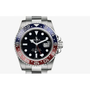 Rolex [NEW] GMT-Master-II White Gold 116719BLRO (Retail:HK$297,900)