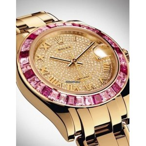 Rolex [NEW] Oyster Perpetual Datejust Pearlmaster 34mm Yellow Gold 81348SARO-74868BR (Retail:HK$685,500)