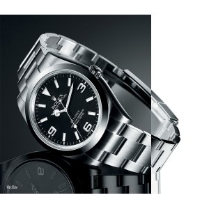 Rolex [NEW] Oyster Perpetual Explorer 39 mm 214270 (Retail: HK$48,200)