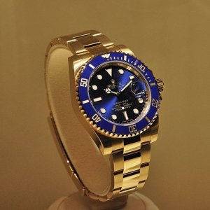 Rolex [NEW] Oyster Perpetual Submariner Date Mens 116618LB (Retail:HK$242,500)