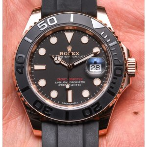 Rolex [NEW] Oyster Perpetual Yacht-Master 268655 RG Ladies (Retail:HK$163,200)
