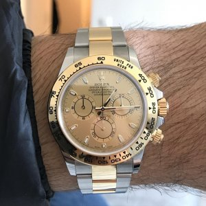 Rolex [NEW][全新] Cosmograph Daytona 116503 Champagne Dial Watch