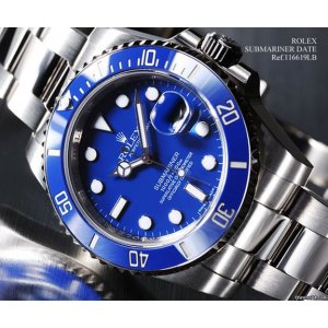 Rolex [NEW] Submariner Date White Gold BLUE 116619LB (Retail:HK$263,600)