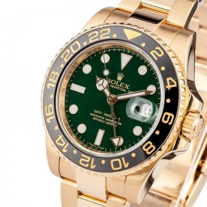 Rolex [NEW][香港行貨] Ceramic GMT II 18K YG 116718LN Green Dial (Retail:228,500)