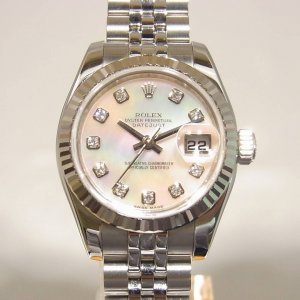 ROLEX [NEW][香港行貨] Datejust 10PDiamond 179174NG Stainless Steel/SS Ladies