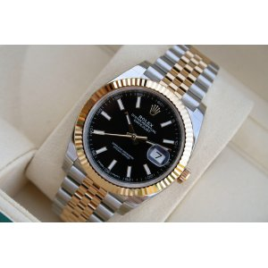 Rolex [NEW][香港行貨] Oyster Perpetual Datejust 41mm 126333 Black index Mens