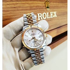 Rolex [NEW][香港行貨] Oyster Perpetual Datejust 41mm 126333 Silver index Mens
