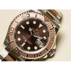 Rolex [NEW] Yacht-Master Stainless Steel Everose Gold Bezel 40mm 116621 (Retail:HK$109,500)