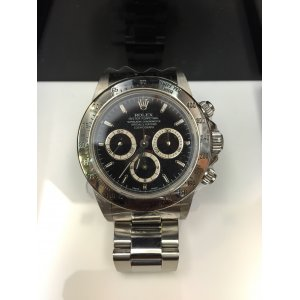 Rolex Pre-owned Daytona Black 116520 in excellent condition - HK$73,000 - SOLD!!
