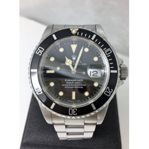 Rolex [USED] Vintage Submariner Date 16610 in Yellowish Luminous Watch