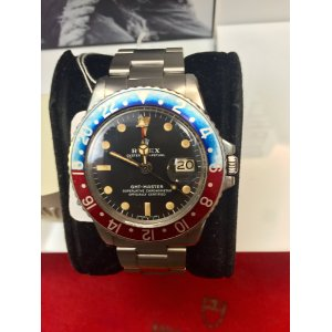 Rolex Vintage GMT-MASTER 1675 in Good Condition - SOLD!!