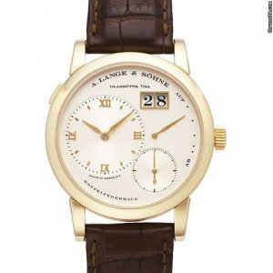 A. Lange & Sohne [NEW] Lange 1 38.5mm Yellow Gold 101.021 (Retail:US$34,700)