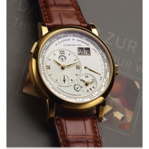 A. Lange & Sohne [NEW] Lange 1 Time Zone 41.9mm Mens Watch 116.021 (Retail:EUR46.400)